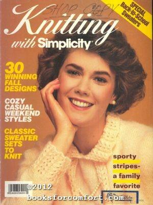 Knitting with Simplicity Vol VIII Fall 1987: Sonja Bjorklund Dagress,