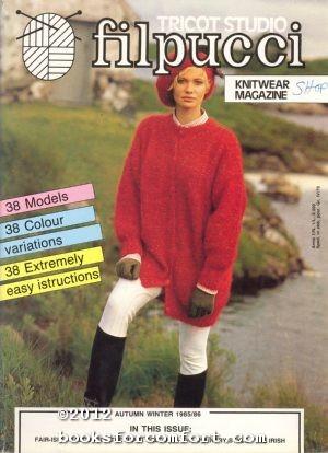 Tricot Studio Filpucci Knitwear Magazine Autumn Winter: Anna Gualtieri, Direttore