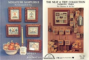 Miniature Samplers II For Christmas and All: Sandra J Sullivan