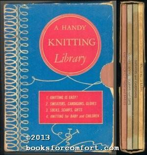 A Handy Knitting Library, 4 Books: Marti (Martha Dreiblatt)