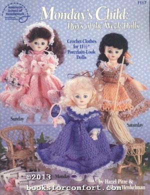Monday's Child: Days of the Week Dolls Book No 1117: Hazel Pitre