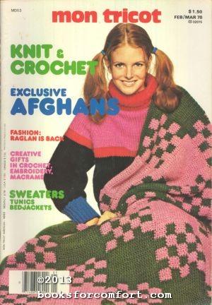 Mon Tricot Knit & Crochet MD53 Feb/Mar: Paulette Chevassus, Editor