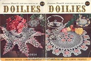 Doilies Star Doily Book 157: American Thread Co