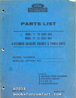 parts list by ford motor company abebooks. Black Bedroom Furniture Sets. Home Design Ideas