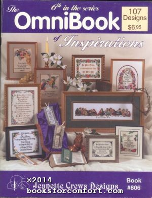 The OmniBook of Inspirations Book #806: Jeanette Crews Designs