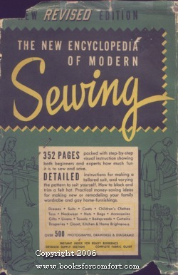 The New Encyclopedia of Modern Sewing: Frances Blondin