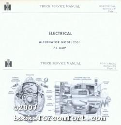 alternator service manual abebooks rh abebooks com Power Max Heavy Duty Alternator Heavy Duty Ford 6.0 Alternator