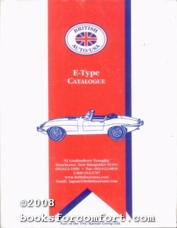 E-Type Catalogue: British Auto/USA