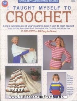 I Taught Myself to Crochet Book No: Boye Needle Co