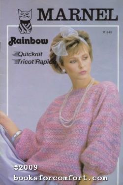 Marnel Rainbow Quicknit Tricot Rapide: Marnel Yarn Imports