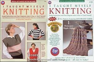 I Taught Myself Knitting Book No 7701: Boye Needle Co