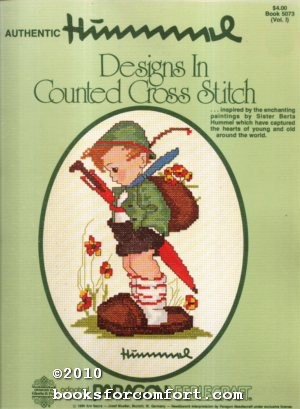 Authentic Hummel Designs in Counted Cross Stitch: Gloria & Pat