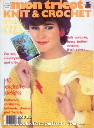 Mon Tricot Knit & Crochet MD86 Summer: Donatienne de Montmort,