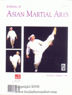 Journal of Asian Martial Arts Volume 6: Michael A DeMarco
