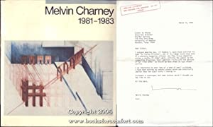Melvin Charney 1981-1983: Melvin Charney