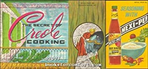 The Secret of Creole Cooking plus Seasoning With Mexi-Pep, 2 Booklets