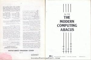 The Modern Computing Abacus/Abaco Moderno Computador No 7748: Elda L Merton