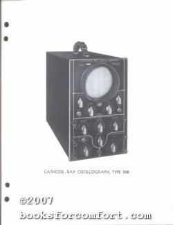 Du Mont Electronic Switch Type 185-A & Oscillograph Type 164-E, 208, & 223, 4 Manuals: Du ...