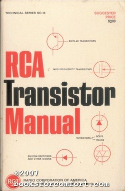 RCA Transistor Manual, Technical Series SC-13: Radio Corporation of America