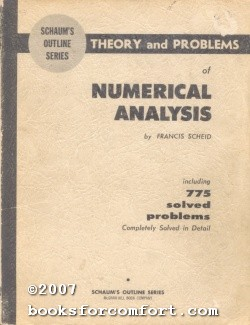 Theory and Problems of Numerical Analysis: Francis Scheid
