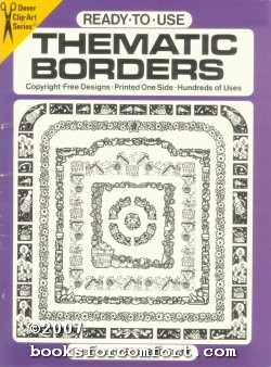 Ready-To-Use Thematic Borders, Dover Clip-Art Series: Ed Sibbett Jr
