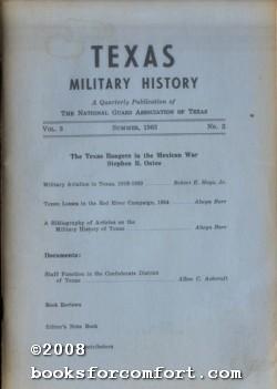 Texas Military History, Summer 1963 Vol 3 No 2: Lt Col Jay Matthews Jr, Editor
