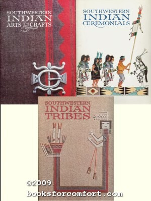 Southwestern Indian Arts & Crafts, Ceremonials AND Indian Tribes, 3 Books: Mark Bahti