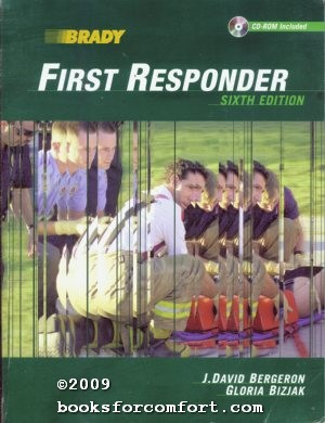 First Responder Sixth Edition CD-Rom Included