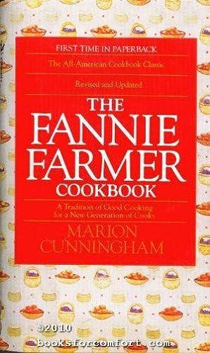 The Fannie Farmer Cookbook: Marion Cunningham