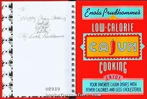 Enola Prudhommes Low-Calorie Cajun Cooking: Enola Prudhomme