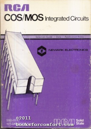 RCA COS/MOS Integrated Circuits SSD-203C 1975 Databook: Radio Corporation of