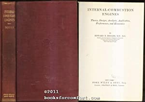 Internal-Combustion Engines: Howard E Degler