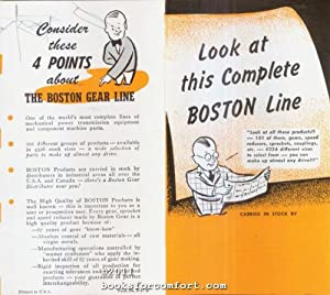 Look at this Complete Boston Line: Boston Gear Works