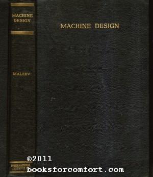 Machine Design: V L Maleev