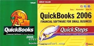 QuickBooks Pro 2005 Program & QuickBooks 2006 Quick Steps Book: Intuit Inc