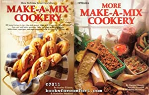 Make-A-Mix Cookery AND More Make-A-Mix Cookery, 2 Books