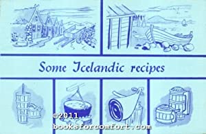Some Icelandic Recipes: Elin Kristjansdottir