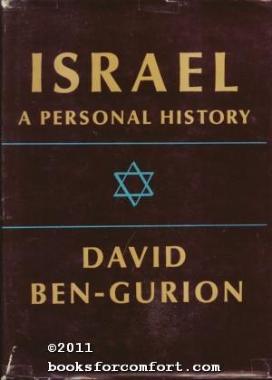 Israel: A Personal History: David Ben-Gurion