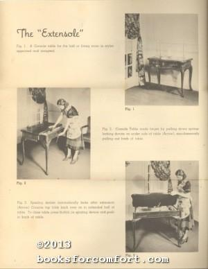 The Extensole, A Table with a Purpose: Michigan Artcraft Co