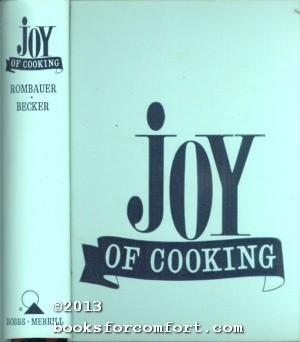 Joy of Cooking: Irma S Rombauer