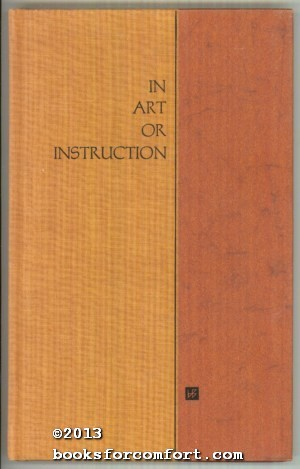 In Art or Instruction: William Jovanovich