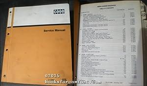 Case 580B Loader Backhoe Service Manual: J I Case