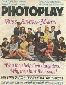 Photoplay, Papas Sinatra and Martin, July Vol 74 No 1: Mary Fiore, Editor