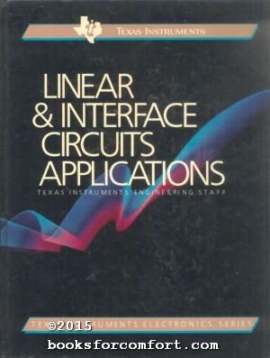 Linear & Interface Circuits Applications: D E Pippenger