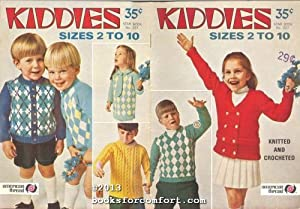 Kiddies Sizes 2 to 10 Star Book: American Thread Co