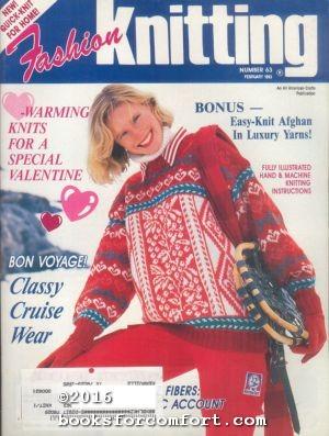 Fashion Knitting No 63 February 1993: Sally V Klein,
