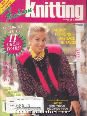 Fashion Knitting No 64 April 1993: Sally V Klein,