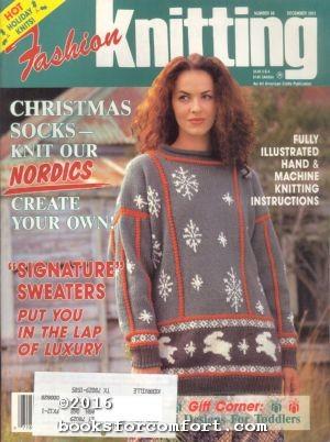 Fashion Knitting No 68 December 1993: Sally V Klein,