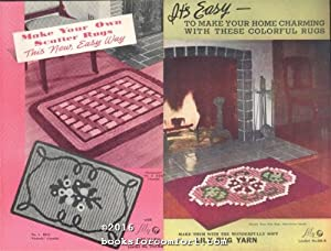 Scatter Rugs Lily Rug Yarn Leaflets No: Lily Mills Company