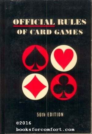 Official Rules of Card Games: Whitman Publishing Co